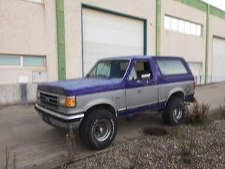 Ford Bronco 4x4 V8 1989