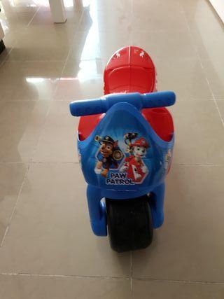 moto patruya canina