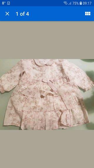 Baby Dior vestido 12 mes