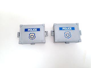 playmobil cajas policías