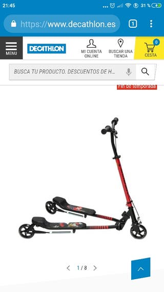 patinete para adulto y niño decathlon