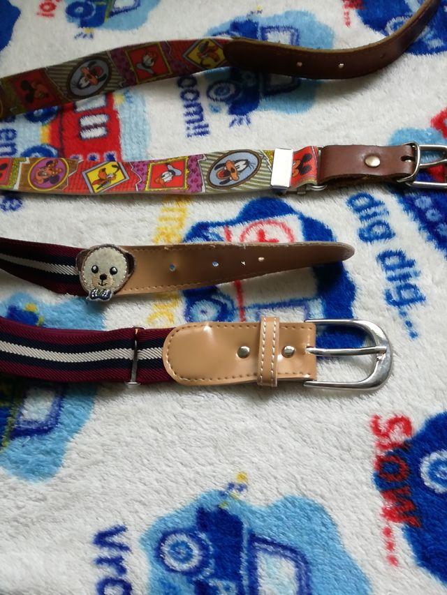 Cinturones niño.