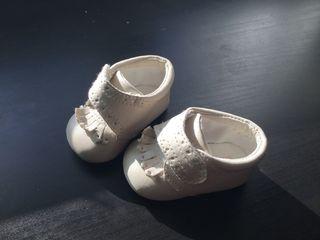 Zapatos bebé recién nacido talla 15