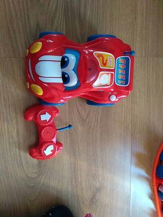 Coche radiocontrol infantil