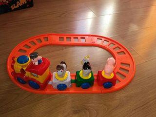 Mini tren infantil