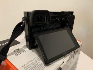 SONY A6000 alpha cámara reflex