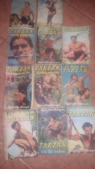 novelas de tazan antigua colección completa