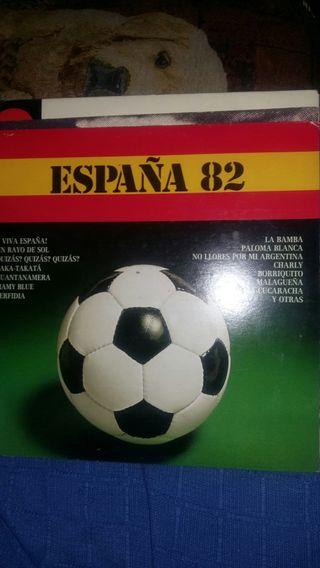 disco de vinilo españa 82