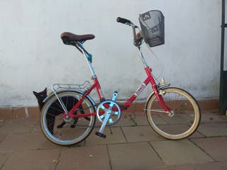 Bicicleta clasica plegable Torrot