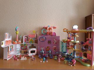 Little Shop. Casas y muñecos