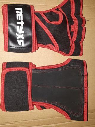 set NUEVO guantes + comba crossfit