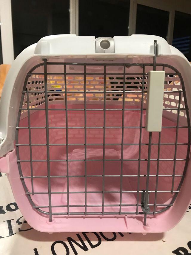 Caja transporte para gato o perro pequeño