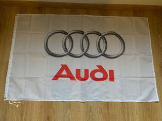 Bandera de Audi gran formato