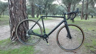 Ciclocross carbono Gravel t.55 Rival hd