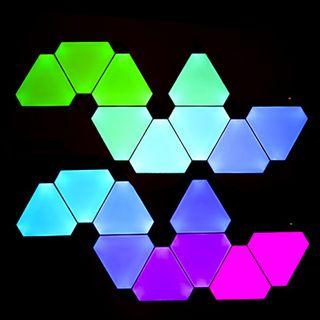 Nanoleaf Kit 9 Paneles LED Wifi+Unid Control Auror