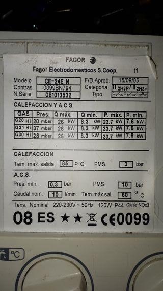 Caldera Fagor Contract mini CE-24E