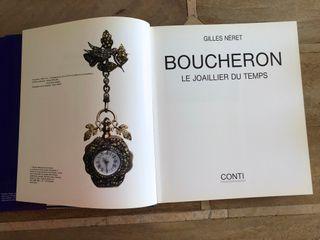 Boucheron Le Joaillier Du Temps ed° 1992