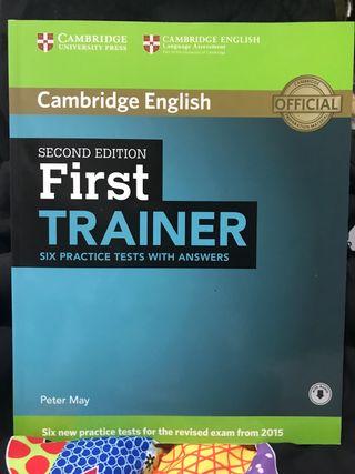 Libro first trainer Cambridge English