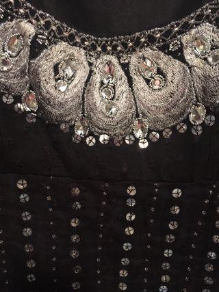 Vestido plumeti S