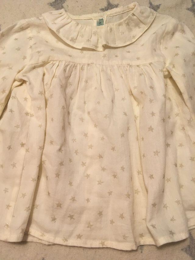 b52a89cc1 Nanos blusa bebé niña 24M de segunda mano por 10 € en Vigo en WALLAPOP
