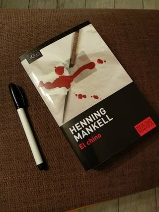 libro El chino,Henning Mankell