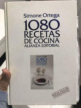 Libro de recetas 1080 recetas