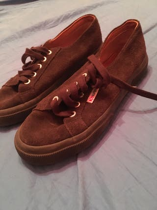 Superga marrones