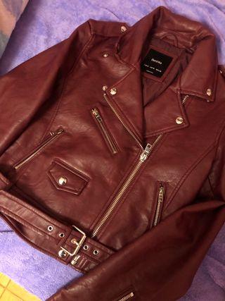 Cazadora, chaqueta polipiel