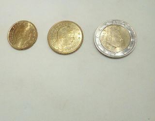 monedas euro 2004 LUXEMBURGO Y ESPAÑA