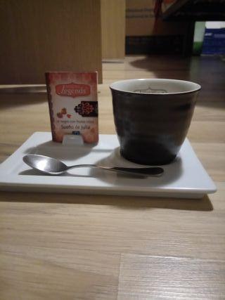 Taza térmica de té