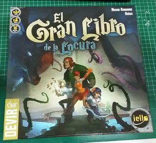 El Gran Libro de la Locura juego de mesa
