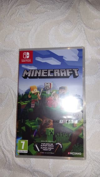 Juego minecraft Nintendo switch