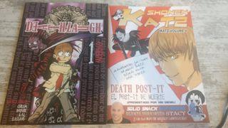 Fanzines Death Note y varios Shonen Jump