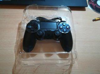 Mando PS4 compatible inalambrico a estrenar negro