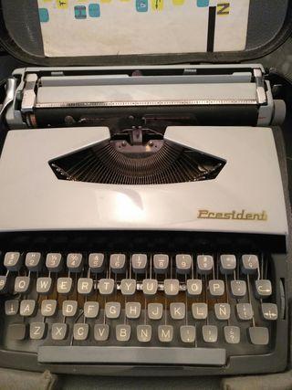maquina de escribir marca President