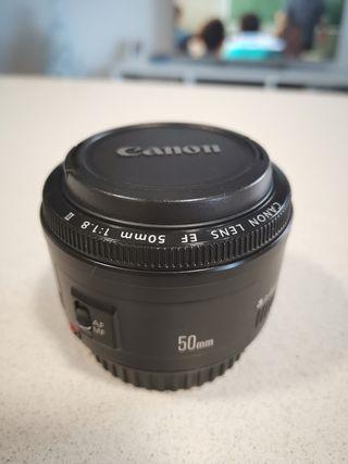 Objetivo Canon 50mm