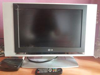 """TV LG 17"""" con tdt y grabador usb"""