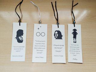 Marcapáginas personalizado Harry Potter