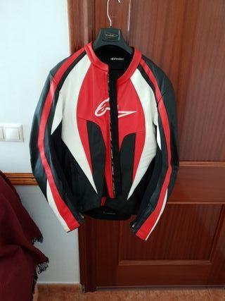chaqueta alpinestars cuero