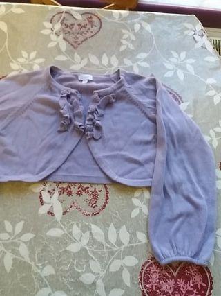 bolero chaqueta niña 4 años
