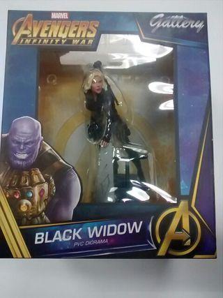 Figura Viuda Negra Vengadores Infinity War Diamond