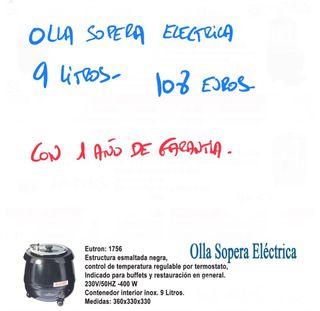 OLLA SOPERA ELÉCTRICA 9 LITROS