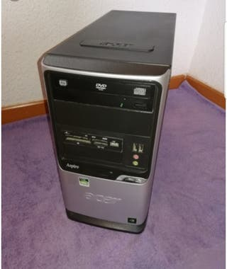torre ordenador pc acer