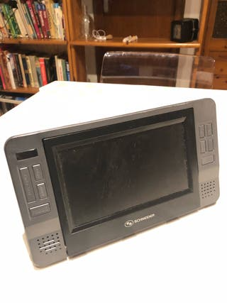 Tv portatil schneider