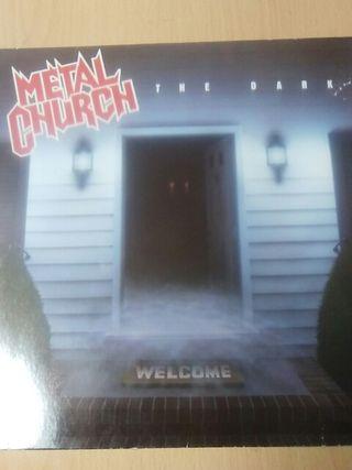 vinilo METAL CHURCH the dark discos heavy