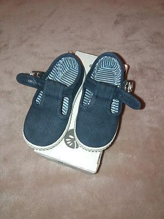 Zapatillas lona N° 23