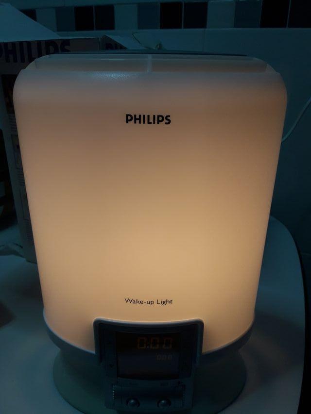 Lámpara despertador Philipp
