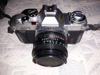 camara canon av1 de 1982