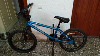 Bicicleta Btwin azul