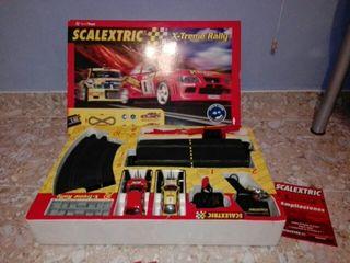 scalextric x-treme rallye circuito